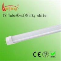 23 ± 1W Energy Saving 12V / 24V DC Oval Milky T8 Fluorescent Tube With Aluminum Cover Manufactures