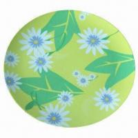 100% Melamine Plate, FDA Certified, Customized Logos and Designs are Accepted Manufactures