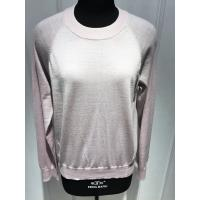 Wool Round Neck Ladies Pullover Sweaters Raglan Long Sleeve Classic Fit OEM Manufactures