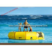 Quality Customized PVC Tarpaulin Inflatable Water Slide Trampoline Pool For Adults / Kids for sale