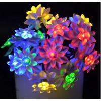 Quality Outdoor Solar Powered Flower Lights / Solar Blossom Lights Low Carbon No for sale