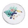 Plush Woodpecker Roundie Beach Towel Manufactures