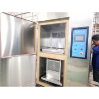 Two Boxes High Low Temperature Air Thermal Shock Chamber , Thermal Shock Equipment Manufactures