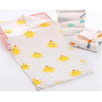 Buy cheap Comfortable Comed Cotton muslin Baby burp cloth, face cloth,face towel Printed 6 from wholesalers