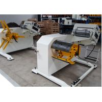 Metal Coil 2 In 1Decoiling and Straightening Machine With Frequency Changer Manual Expansion Manufactures