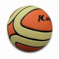 Official Basketball with 14 Panels and CE Mark Manufactures