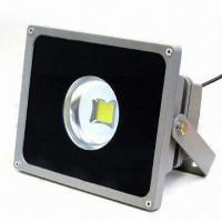 LED Floodlight with Long Lifetime, 60 Degrees Viewing Angle, 85 to 265V AC Voltage and IP65 Degree Manufactures