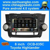 Ouchuangbo Car Radio S150 System DVD Player Toyota Highlander GPS USB 3G Wifi Multimedia Android 4.0 Radio OCB-035C Manufactures
