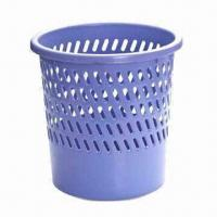 Trash Can, Made of PP, Available in Various Sizes and Colors, BPA-free, FDA-/EN 71-certified Manufactures
