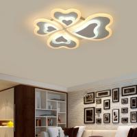 Buy cheap Modern Acrylic LED Ceiling Lights for Living Room Bedroom ceiling lamp plafonnier led Decorative lampshade from wholesalers