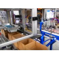 High Speed Case Packing Equipment For Bottled Foods And Snacks Packaging Manufactures