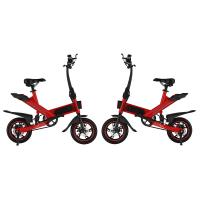 Fashionable Folding Road Bicycle , Adjustable Speed Small Electric Bicycle Manufactures