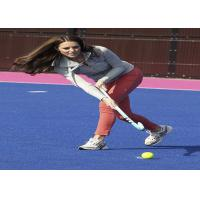Green / Blue / Red Hockey Artificial Turf Synthetic Grass High Elasticity Manufactures