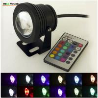 RGB 10W LED Underwater Light DC12V Waterproof IP68 LED Lamp for Fountain Pool Lighting Manufactures