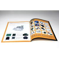 Quality Commercial Digital Color Brochure Printing Services Perfect Binding for sale