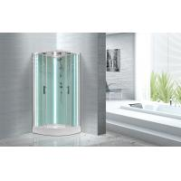 Free Standing Quadrant Shower Cubicles With Transparent Tempered Glass Fixed Panel Manufactures