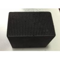 Pollution Removal Honeycomb Activated Carbon 100X100X30mm Iodine Value 400-900 mg/G Manufactures