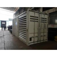 1500 KVA Containerized Diesel Generator Sets For Emergency Power Electric Starter 24V Manufactures