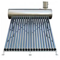 Integrated low pressure solar evacuated tube water heater Manufactures