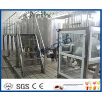 500L 1000L SGS Butter Making Equipment With Butter Separator Machine Manufactures