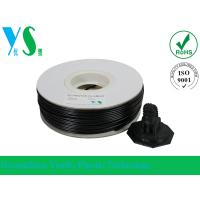China Black 3D Printer HIPS Filament 3.0mm Consumables With Paper Spool on sale