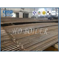 Steel Industrial Boiler Water Wall Panels For Recycling Water , Auto Submerged Welding Manufactures