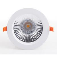 Buy cheap 12W/15W/18W Black High Power COB LED Down Light 60 Beam Angle Dimmable For Hotels from wholesalers