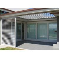Australia Home Window Shutters / Aluminum Louvre Windows For Decoration & Airflow Manufactures