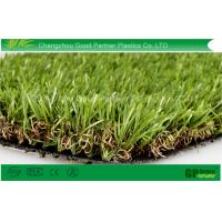 30mm 9900dtex Garden Artificial Grass , 3 / 8 inch Artificial Grass Carpet Manufactures