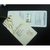 2mm Thickness Cardboard Hang Tag, Paper Garment Tags With Laser Printing, Barcode Manufactures