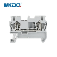 Tin Plated Nylon PA66 Spring Cage Terminal Blocks 12 AWG Manufactures