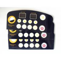 Quality Embossed Flat Metal Dome PCB Single Membrane Switch For Function Keyboard for sale