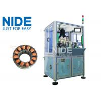 BLDC Burshless Motor Stator Needle Winding Machine With Double Working Stations Manufactures