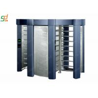 Brushed Single Passage Rotor Turnstile Entrance / Controlled Access Gates Manufactures