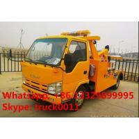 Quality 2017s new iSUZU 3tons road wrecker tow truck for sale, best price high quality ISUZU brand breakdown vehicle for sale for sale