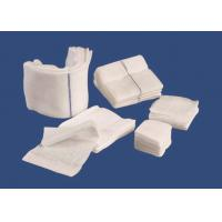 Cotton Medical Use Gauze Dressing Swab Non Sterile With CE ISO Certificates Manufactures