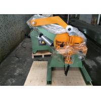Quality Automatic Sheet Metal Decoiler Machine With Magnetic Contactor Electronic for sale