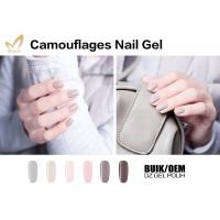 OEM Brand Camouflage Nail Gel For Beauty Training School No Layering Manufactures