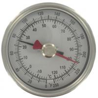 Quality Outdoor ABS industrial desktop Bimetal Temperature Sensor thermometer hygrometer for sale