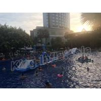 Quality Commercial Grade Kids Blow Up Water Park , Giant Inflatable Water Sports for sale