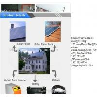 complete Off grid tied Solar Power Generator Solar Home Power System Manufactures