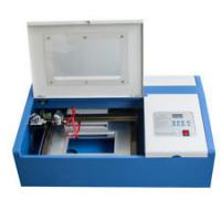 Buy cheap 40W - 50W Co2 Tempered Glass Laser Cutting Machine 300*200mm Cutting Area from wholesalers
