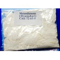 Metandienone Natural Androgenic Anabolic Steroid Oral Powder Dianabol CAS 72-63-9 Manufactures