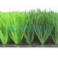 High Density Artificial Football Turf Fake Grass PE Mono - Filament Environmental Friendly Manufactures