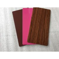 PVDF Paint Aluminum Insulated Sandwich Panels , Exterior Building Cladding Panels Manufactures