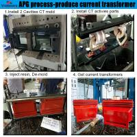 apg clamping machine for apg process for Combination Instrument Transformer Manufactures