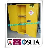 Buy cheap Flammable Industrial Safety Cabinet , Chemical Storage Containers For Laboratory from wholesalers