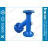 Buy cheap BOCIN Pre Filter Y Welding Flange Strainer Liquid Water Purification 50um / 150um from wholesalers