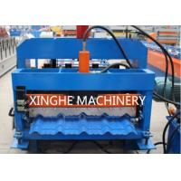 Quality 820 Model Automatic Glazed Tile Steel Profile Bending Forming Machine for sale