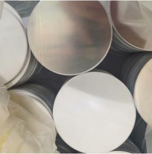 China CommercialT AA1050 Aluminium Round Plate , Aluminium Discs O H22 H24 on sale